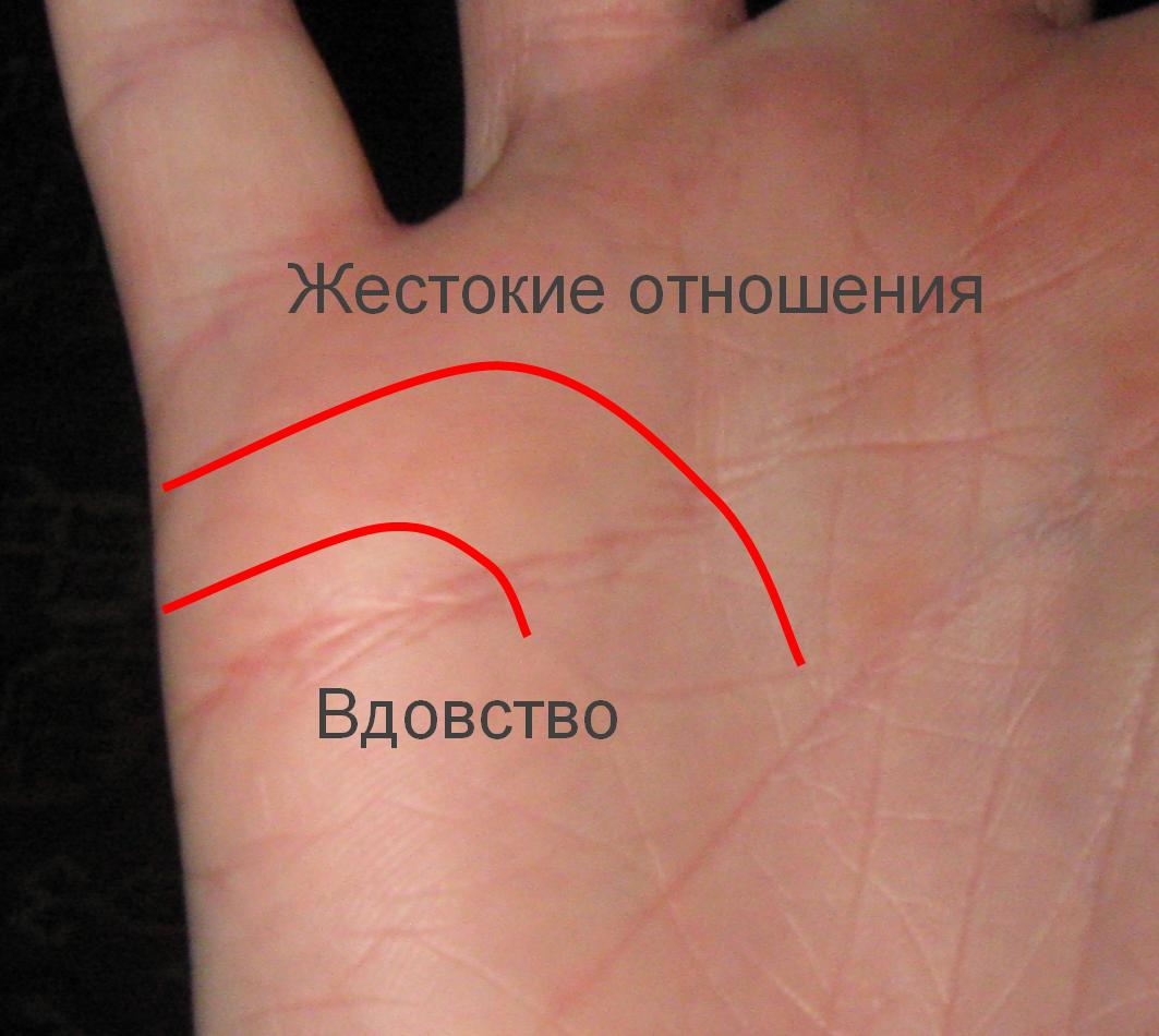линии на ладони в виде звезды: